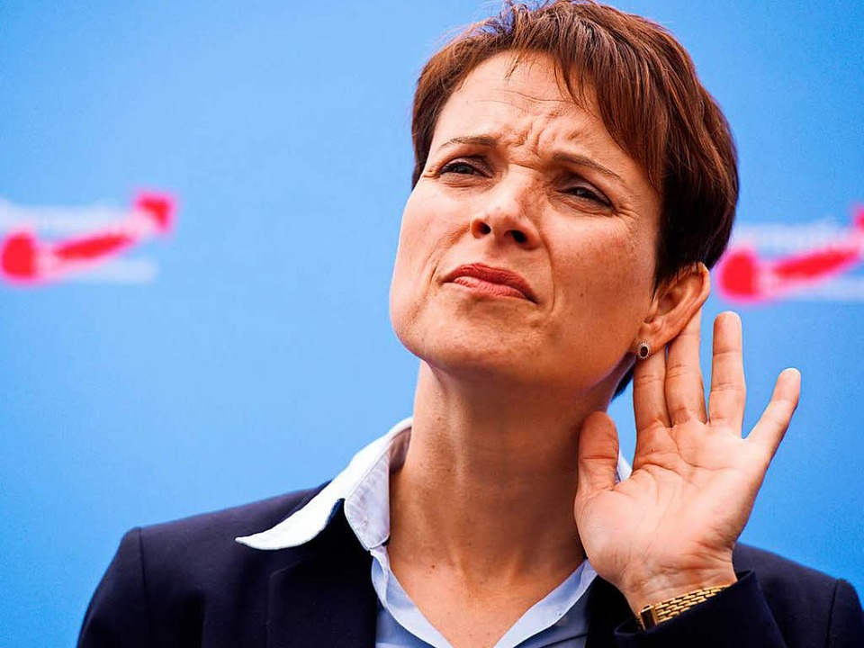Frauke Petry  | Foto: dpa