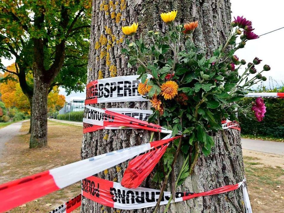 An der Dreisam in Freiburg wurde die S...tin Maria L. vergewaltigt und getötet.  | Foto: Thomas Kunz