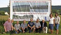Mit Argumenten gegen den Windpark