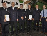 Hohe Auszeichnungen für Wehrleute Pichl und Eichin