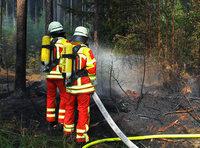 Waldbrand auf der Baar – vermutlich Brandstiftung
