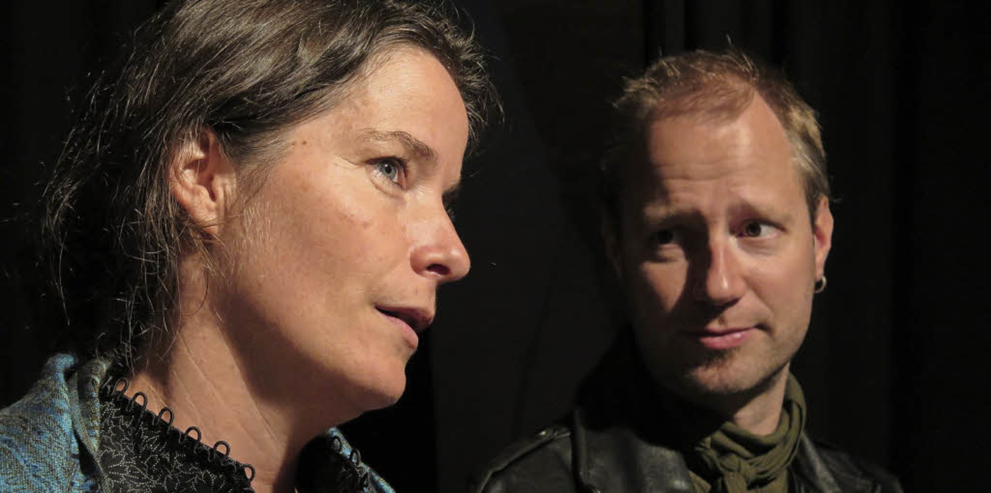 Der gute Mensch von Sezuan: Katija Rot...hen Te, Matthias Göbbels als Yang Sun   | Foto: Veranstalter