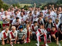 SV Rot-Weiß Glottertal feiert den Aufstieg in die Kreisliga A