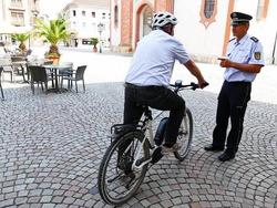 Polizei blitzt Radler in der Bad Säckinger Innenstadt