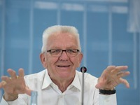 Aufgezeichnet: Kretschmanns Wutausbruch beim Parteitag