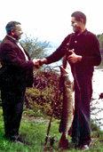 50 Jahre Fischerverein Schwörstadt: Die Zahl der Mitglieder stieg schnell an