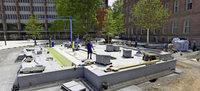 Debatte um neuen Brunnen und Alte Synagoge