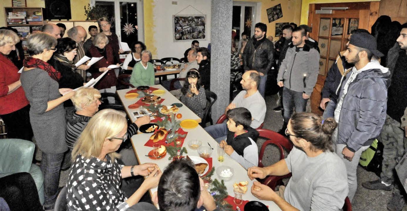 Gemeinsam Feste feiern - ob zu Weihnac... wichtiger Bestandteil der Aktivitäten    Foto: Markus Zimmermann