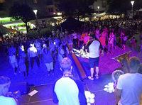 Tanz in die Nacht beim Bläserfestival