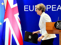 Theresa May blitzt beim EU-Gipfel ab