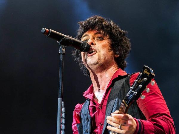 Green Day auf der Green Stage