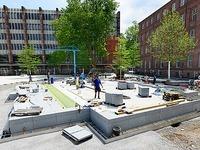 Debatte um neuen Brunnen am Platz der Alten Synagoge