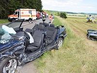 Unfall auf der B 31 mit sieben Verletzten - vier davon schwer