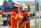Fotos: Leistungswettkampf der Feuerwehren in Endingen