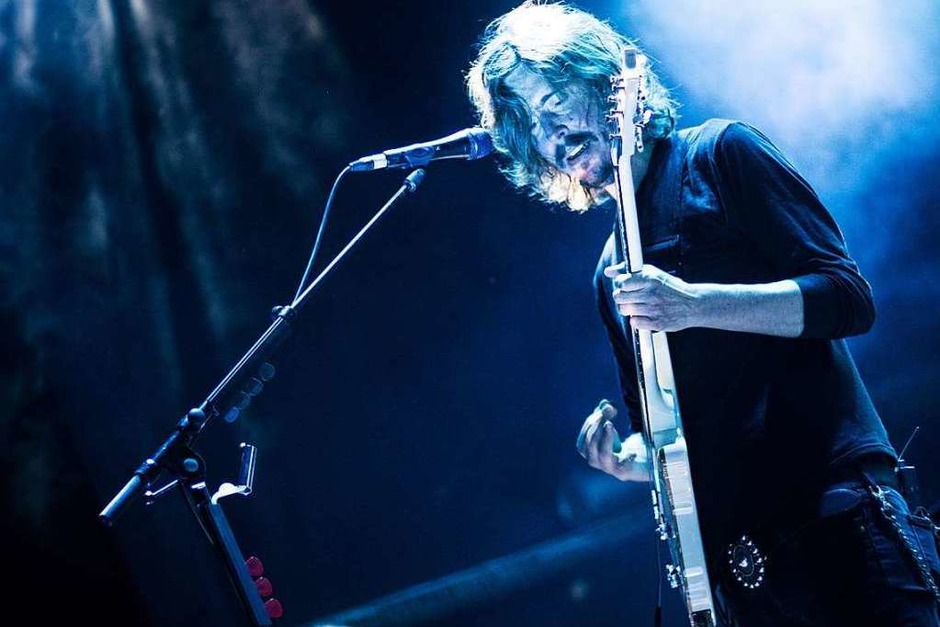 Opeth und Caligula's Horse haben ein Konzert im Z7 in Pratteln gegeben. (Foto: Leon Pfaff)