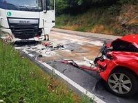 Schwerer Unfall auf der B31 - Höllental voll gesperrt