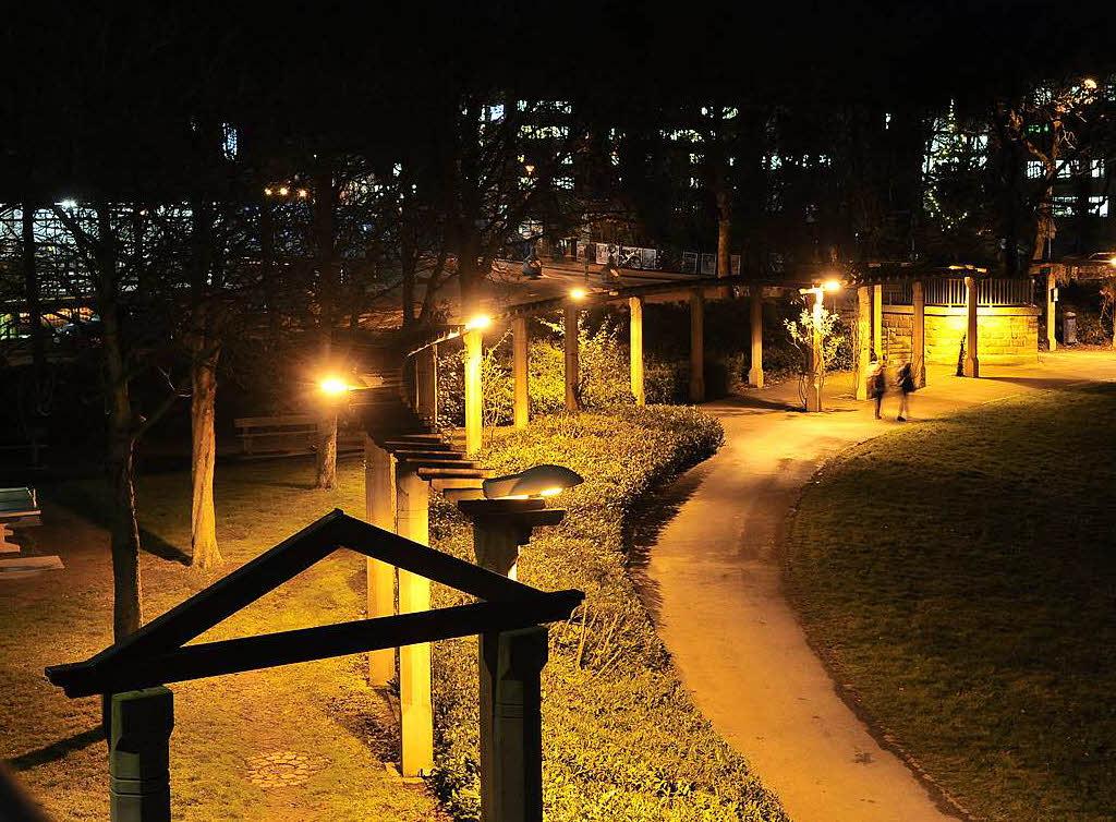 Stadt verbessert beleuchtung auf stra en und pl tzen - Lampen freiburg ...
