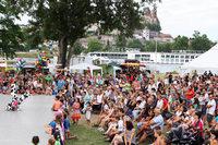 Rund 2000 Kinder kamen zur Kinderinsel 2017