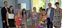 Neuer Wasserspender in der Grundschule