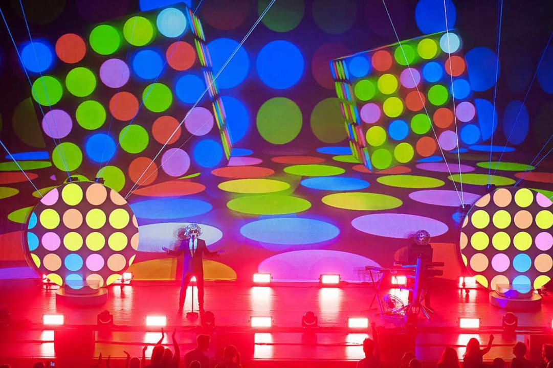 Die Pet Shop Boys in Baden-Baden.  | Foto: Michael Gregonowits