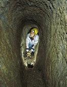 Eintauchen in die dunkle Welt der Bergleute
