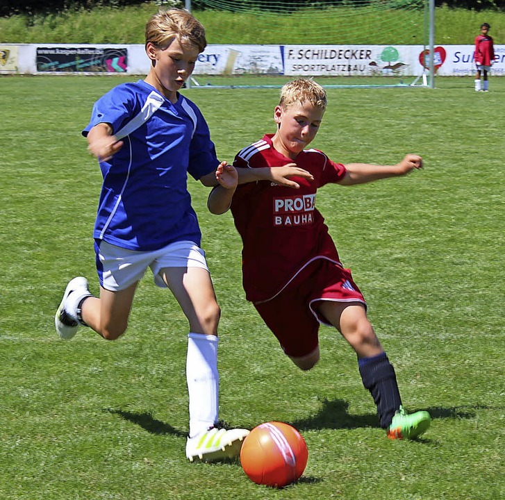 Nicht nur die Fußballer freuen sich au...len in Merdingen im vergangenen Jahr.   | Foto: Mario Schöneberg