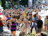 Am Samstag wird bei der Christopher-Street-Day-Parade in Freiburg gefeiert und demonstriert