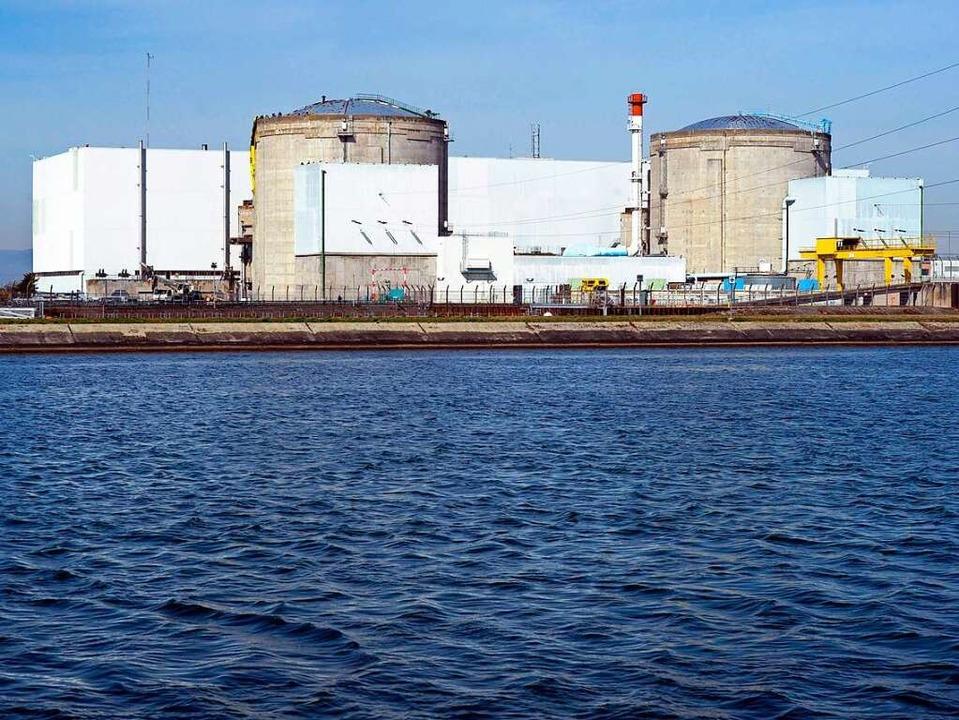 Im Atomkraftwerk Fessenheim wurde ein Arbeiter verstrahlt.  | Foto: AFP
