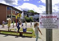 Die Schulhöfe Freiburger Schulen bleiben für jeden offen - aber nicht immer