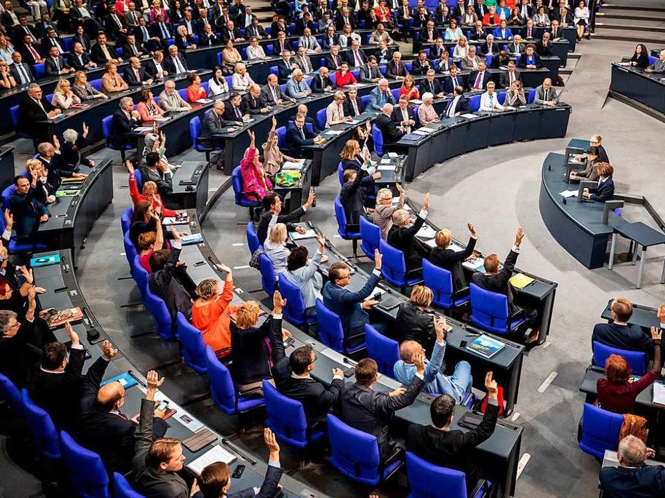Wie haben die Abgeordneten aus Südbaden abgestimmt?  | Foto: dpa