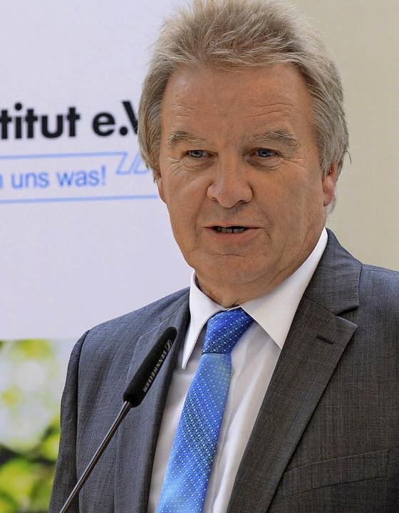 Einst Praktikant am Öko-Institut, heute Umweltminister: Franz Untersteller  | Foto: Rita Eggstein
