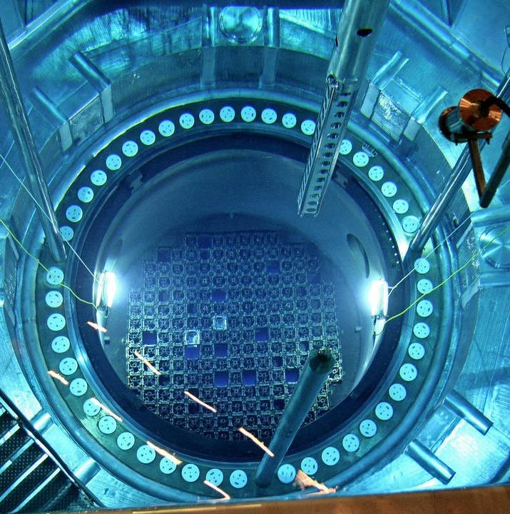 Blick in den Reaktorblock 2 des Atomkraftwerks Philippsburg  | Foto: Uli Deck