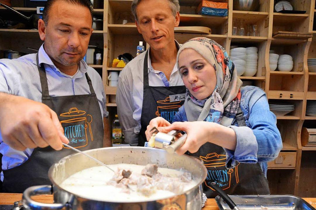 Das war's: Kitchen on the run zieht nach Wismar weiter.    Foto: Barbara Ruda