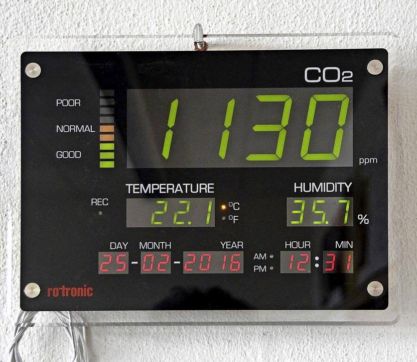 Moderne Technik sorgt für gute Luft im Klassenzimmer.  | Foto: Burgmaier
