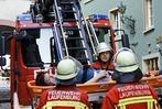 Fotos: Laufenburger Feuerwehrübung über die Grenze