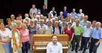 Chorgemeinschaft Zäringia singt im Bürgerhaus Zähringen