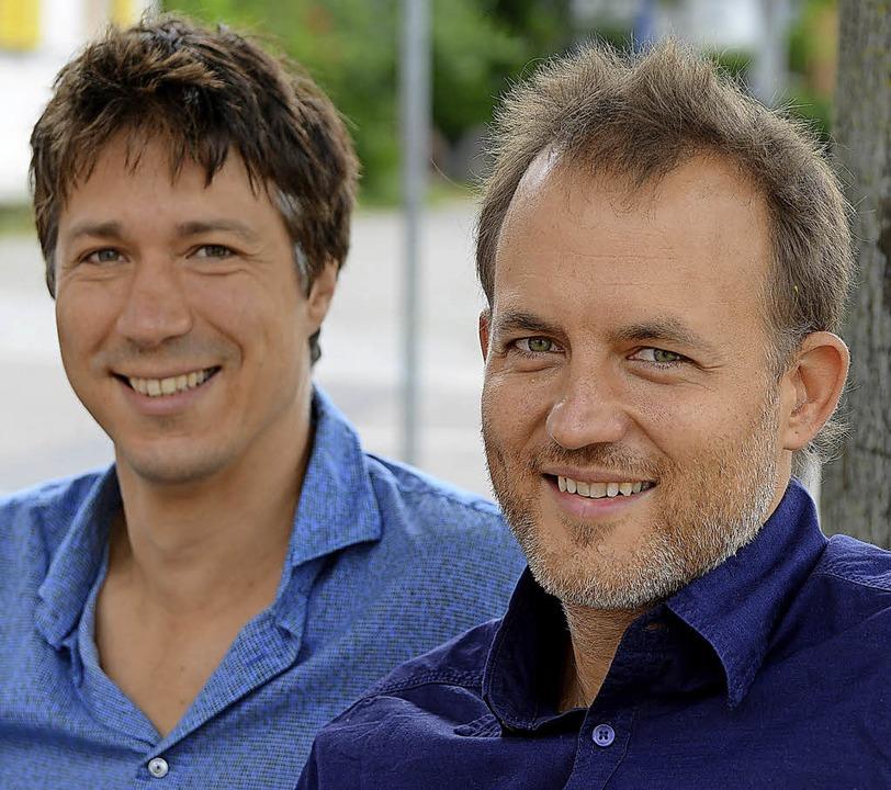 Wanja Kunstleben und Peter Behrendt (v...wollen neu über Demokratie nachdenken   | Foto: Rita Eggstein