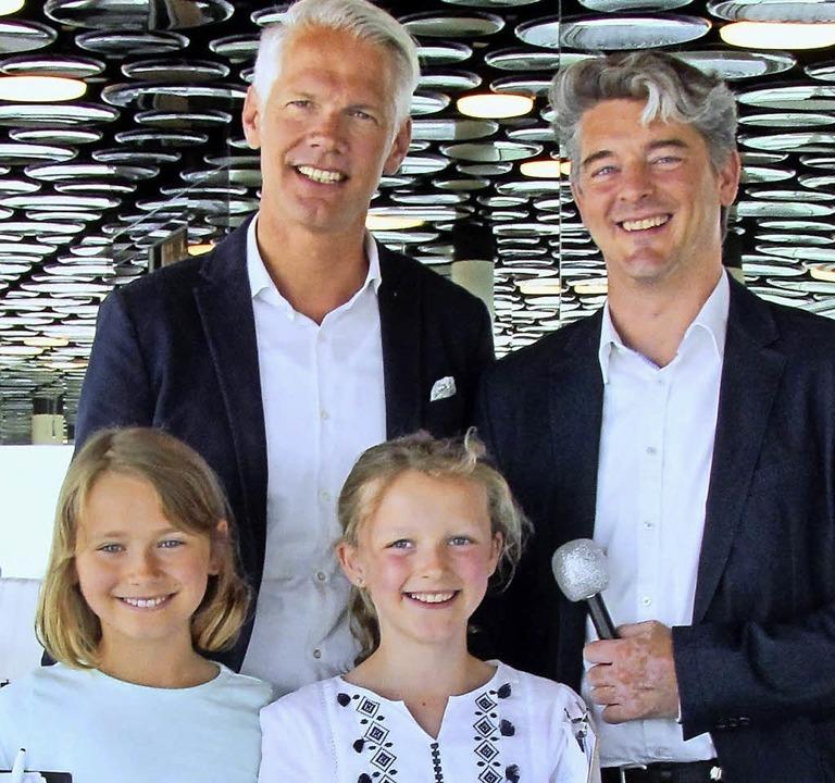 Marlene Michaelis, Karsten Kleine, Hen...ilipp Schmidt (von links nach rechts)   | Foto: Privat