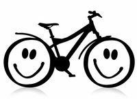 Die Igelklasse besteht die Fahrradprüfung