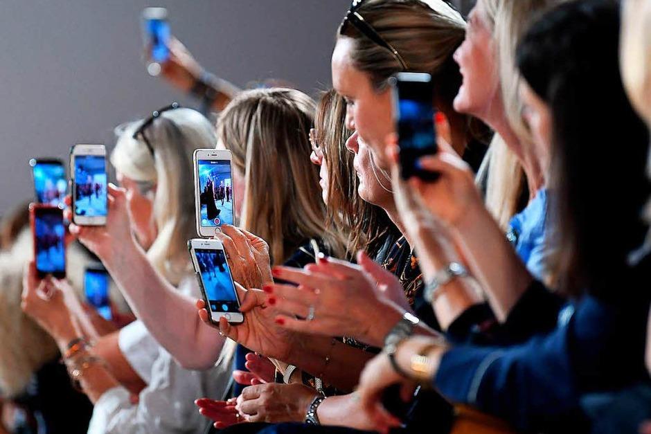 Laurel begeistert die Fashionfans (Foto: ZB)