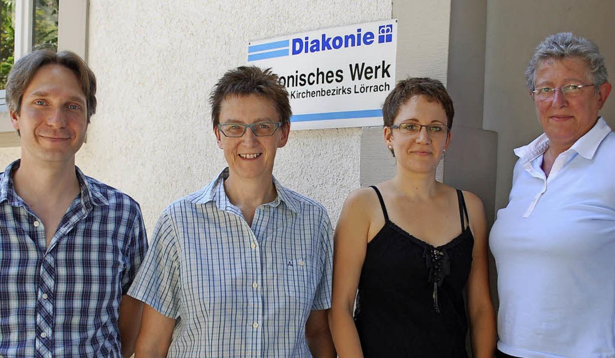 Peter Schneider-Berg, Christina Hopfne...ägele, Marita Bonaventura (von links)   | Foto: Mink