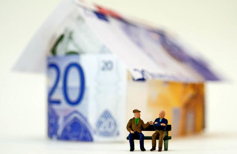 Ein eigenes Haus kann sich auch als Al...; wenn die Rahmenbedingungen stimmen.   | Foto: Andrea Warnecke (dpa)