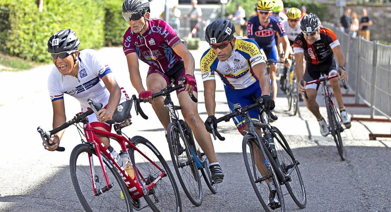 In einer Woche treffen sich in Elzach ...ropas beste Radsportler mit Handicap.   | Foto: Archivfoto: Nikolaus Bayer