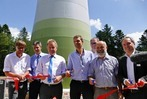 Fotos: Start des Windparks Rohrenkopf in Schopfheim-Gersbach