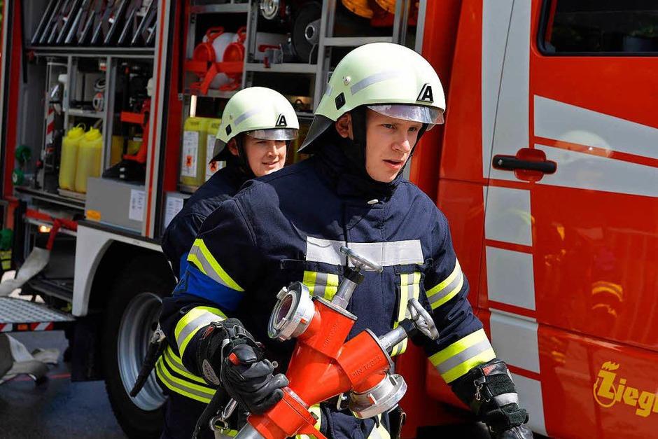 414 Wehrleute stellen sich den 25 Schiedsrichtern bei den Prüfungen zum Leistungsabzeichen der Feuerwehren im Landkreis Breisgau-Hochschwarzwald. (Foto: Wolfgang Scheu)