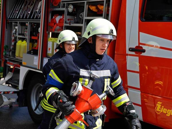 414 Wehrleute stellen sich den 25 Schiedsrichtern bei den Prüfungen zum Leistungsabzeichen der Feuerwehren im Landkreis Breisgau-Hochschwarzwald.