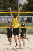 Meister im Beachvolleyball