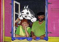 Pippi Langstrumpf live im Zelt neben der Flößerhalle in Bad Säckingen-Wallbach