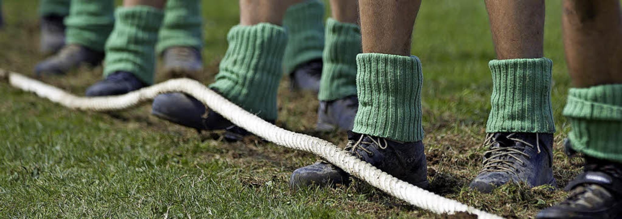 Am Wochenende ist Kraft und Taktik am Seil gefragt.   | Foto: Fleig
