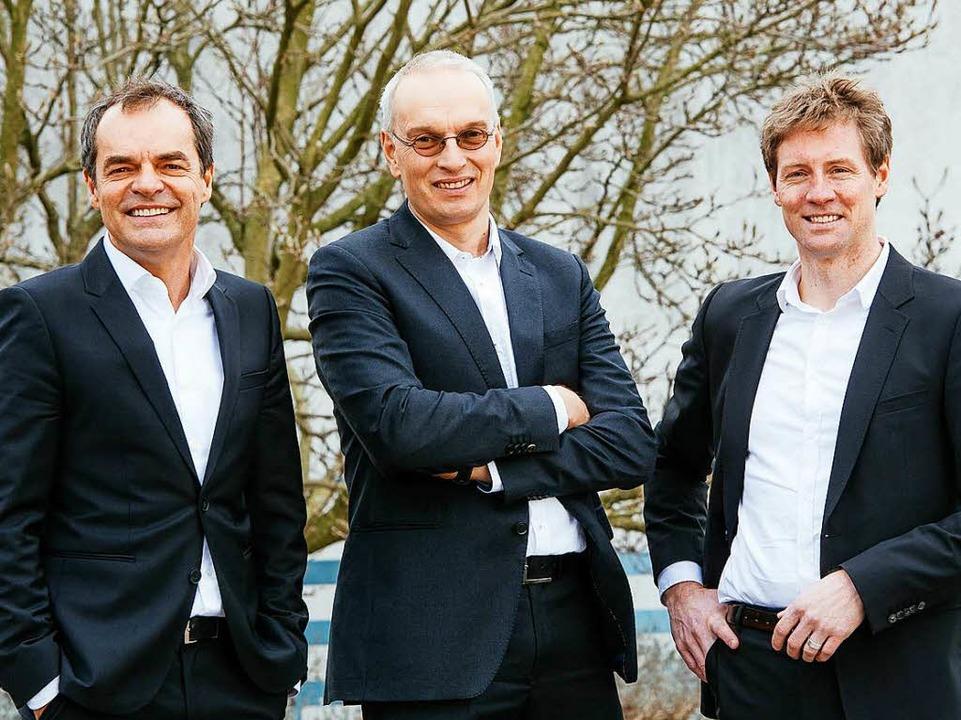 Die geschäftsführenden Gesellschafter:...e und  Christopher Höfler (von links).    Foto: Klaus Polkowski